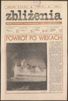 Zbliżenia : tygodnik społeczno-polityczny, 1981, nr 10