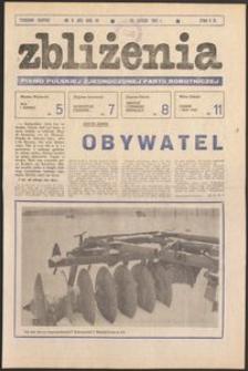Zbliżenia : tygodnik społeczno-polityczny, 1981, nr 9