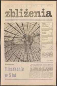 Zbliżenia : tygodnik społeczno-polityczny, 1981, nr 11