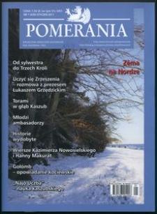 Pomerania : miesięcznik społeczno-kulturalny, 2011, nr 1