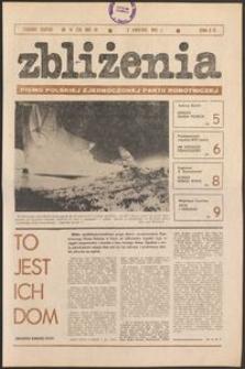 Zbliżenia : tygodnik społeczno-polityczny, 1981, nr 14