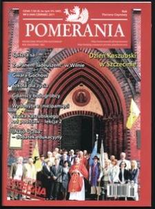 Pomerania : miesięcznik społeczno-kulturalny, 2011, nr 6