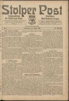 Stolper Post. Tageszeitung für Stadt und Land Nr. 4/1924