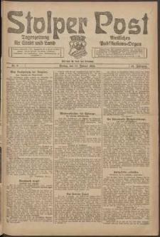 Stolper Post. Tageszeitung für Stadt und Land Nr. 9/1924