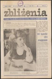 Zbliżenia : tygodnik społeczno-polityczny, 1981, nr 19