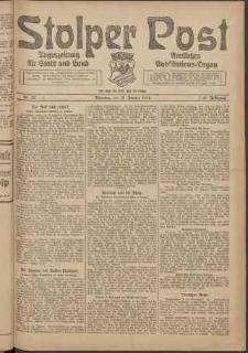 Stolper Post. Tageszeitung für Stadt und Land Nr. 12/1924