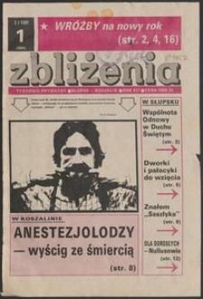 Zbliżenia : tygodnik społeczno-polityczny, 1991, nr 1