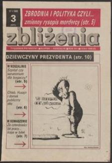 Zbliżenia : tygodnik społeczno-polityczny, 1991, nr 3