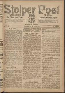 Stolper Post. Tageszeitung für Stadt und Land Nr. 14/1924