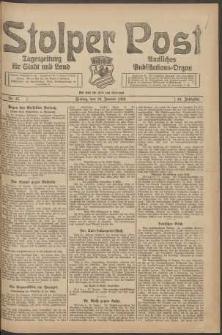 Stolper Post. Tageszeitung für Stadt und Land Nr. 15/1924