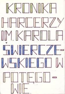Kronika Harcerzy im. Karola Świerczewskiego w Potęgowie