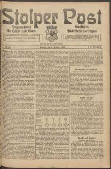 Stolper Post. Tageszeitung für Stadt und Land Nr. 29/1924