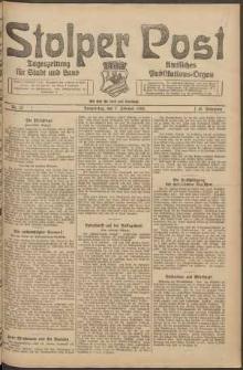 Stolper Post. Tageszeitung für Stadt und Land Nr. 32/1924
