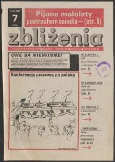 Zbliżenia : tygodnik społeczno-polityczny, 1991, nr 7