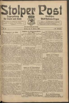 Stolper Post. Tageszeitung für Stadt und Land Nr. 39/1924