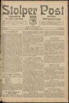Stolper Post. Tageszeitung für Stadt und Land Nr. 43/1924