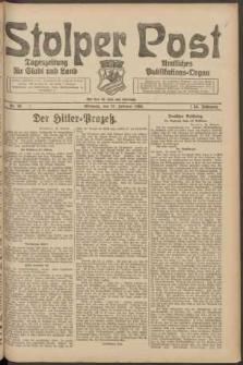 Stolper Post. Tageszeitung für Stadt und Land Nr. 49/1924