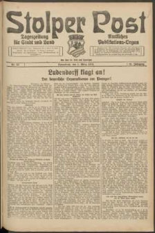 Stolper Post. Tageszeitung für Stadt und Land Nr. 52/1924