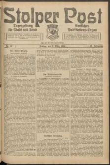 Stolper Post. Tageszeitung für Stadt und Land Nr. 57/1924