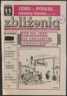 Zbliżenia : tygodnik społeczno-polityczny, 1991, nr 11