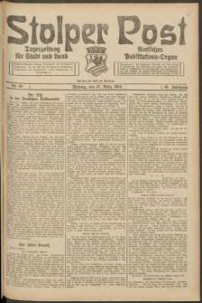 Stolper Post. Tageszeitung für Stadt und Land Nr. 65/1924
