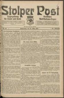 Stolper Post. Tageszeitung für Stadt und Land Nr. 68/1924