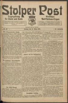 Stolper Post. Tageszeitung für Stadt und Land Nr. 69/1924