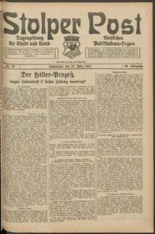 Stolper Post. Tageszeitung für Stadt und Land Nr. 70/1924