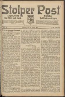 Stolper Post. Tageszeitung für Stadt und Land Nr. 71/1924