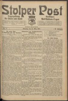 Stolper Post. Tageszeitung für Stadt und Land Nr. 72/1924