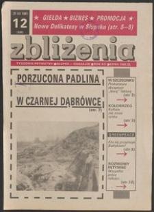 Zbliżenia : tygodnik społeczno-polityczny, 1991, nr 12