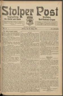 Stolper Post. Tageszeitung für Stadt und Land Nr. 75/1924