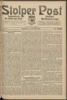 Stolper Post. Tageszeitung für Stadt und Land Nr. 76/1924