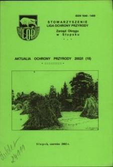Aktualia Ochrony Przyrody, 2002, nr 18