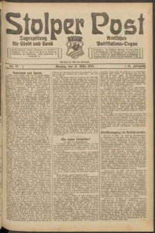 Stolper Post. Tageszeitung für Stadt und Land Nr. 77/1924