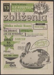 Zbliżenia : tygodnik społeczno-polityczny, 1991, nr 13