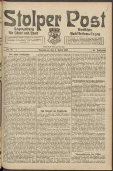 Stolper Post. Tageszeitung für Stadt und Land Nr. 82/1924