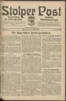 Stolper Post. Tageszeitung für Stadt und Land Nr. 84/1924