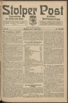 Stolper Post. Tageszeitung für Stadt und Land Nr. 85/1924