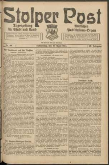 Stolper Post. Tageszeitung für Stadt und Land Nr. 86/1924
