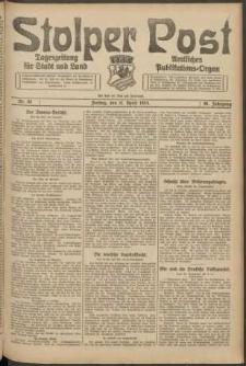 Stolper Post. Tageszeitung für Stadt und Land Nr. 87/1924