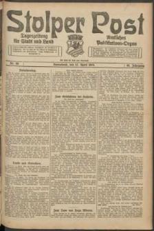 Stolper Post. Tageszeitung für Stadt und Land Nr. 88/1924