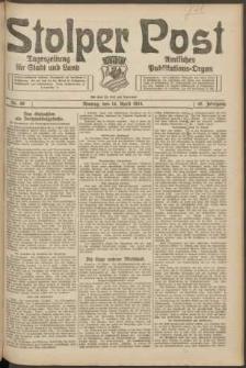Stolper Post. Tageszeitung für Stadt und Land Nr. 89/1924