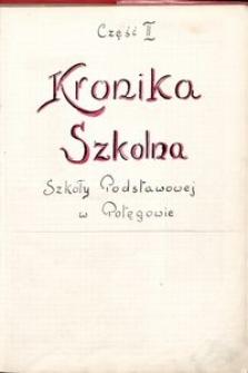 Kronika szkolna. R. 1951-1952