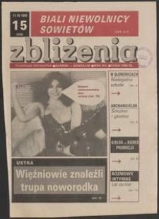 Zbliżenia : tygodnik społeczno-polityczny, 1991, nr 15