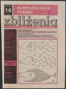 Zbliżenia : tygodnik społeczno-polityczny, 1991, nr 16