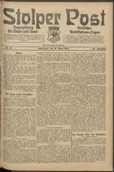 Stolper Post. Tageszeitung für Stadt und Land Nr. 93/1924