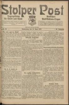 Stolper Post. Tageszeitung für Stadt und Land Nr. 96/1924