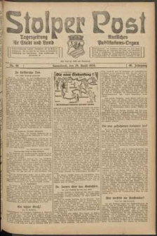 Stolper Post. Tageszeitung für Stadt und Land Nr. 98/1924
