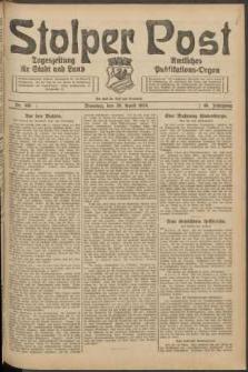 Stolper Post. Tageszeitung für Stadt und Land Nr. 100/1924